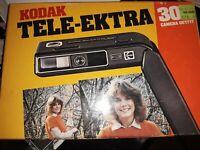 Vintage 1980's Kodak Tele-Ektra 300 Camera Original Box Flip Flash