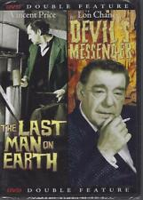 DVD:  DOUBLE FEATURE: LAST MAN ON EARTH & DEVIL'S MESSENGER....NEW