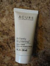 Acure Brilliantly Brightening Facial Scrub-Brand New and Sealed
