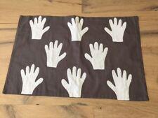 Broste Copenhagen Kissenbezug Kissen Hände Farbe grau 40 X 60cm Baumwolle