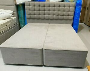 HYPNOS EASYSTORE &GRACE HEADBOARD 6ft SUPER KING 180x200 IMPERIO GREY RRP£2340