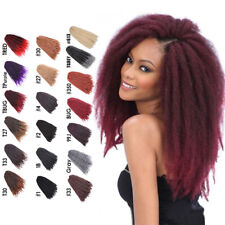 18'' Marley Braids Afro Kinky Curly Ombre Crochet Braid Synthetic Hair Extension