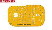 Fleischmann H0 9921 H0 professional-track Track Plan Template 1:10 Neu + Box