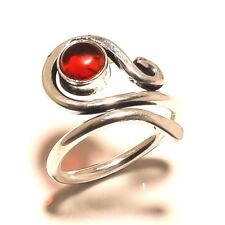 Beautiful Garnet Free Shipping Silver Plated Gemstone Ring Jewellery Wp5650