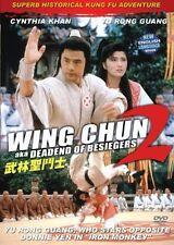 Wing Chun 2-- Hong Kong RARE Kung Fu Martial Arts Action movie - NEW DVD