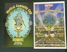 High Times Cannabis Cup Postcard Sized Ads 2010 & 2013