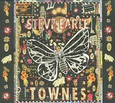 Townes [Bonus Disc] [Digipak] [Limited] by Steve Earle (CD, Sep-2015, 2 Discs, New West (Record Label))