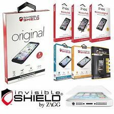 NEW! Authentic ZAGG InvisibleShield ORIGINAL HD HDX Screen Protector for Phone