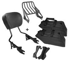 Sissybar set + bolsillos interiores separados ofrecen w1 para Harley Road Glide Custom 10-13 SW