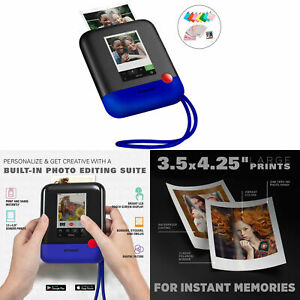 Polaroid Pop 2.0 Instant Print Digital Camera 1080P HD with Display Touchscreen