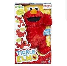 Tickle Me Elmo Sesame Street Plush Playskool Laughing & Talking New In Box