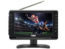 "Naxa NT-90 9"" LCD Portable/Rechargeable Digital TV +AC/DC Power +USB/SD Slot"