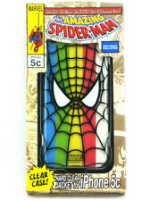 Amazing Spider-Man iPhone 5c Clear Hard Case Marvel Comics New In Box