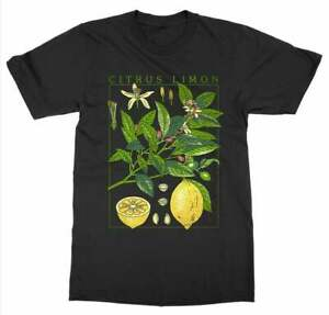 Citrus Limon Lemon T-Shirt - Vintage Style - Botanical - Gardening - Lemon