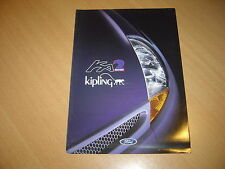 DEPLIANT Ford Ka Kipling de 1998 Belgique