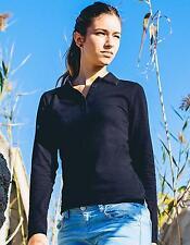 Woman Longsleeve Poloshirt   Nath