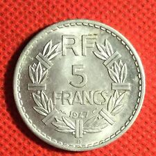 France; 1947B; 5 Franc; KM-888b.2; I Graded It MS; #122
