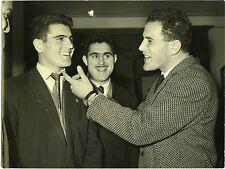 PHOTO presse service photographique de FRANCE Soir 3 hommes à identifier ça 1950
