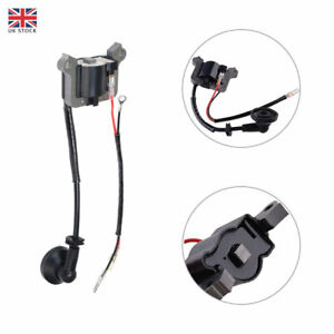 Ignition Coil for Chainsaw Strimmer mower Brush 2 Stroke Engine Replacement UK