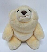 Vintage Gund Snuff Polar Bear 8 Inches Plush Toy Cream And White