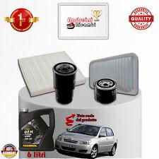 Kit de Mantenimiento Filtros + Aceite Toyota Corolla Ix 2.0 D4D 66KW 2005 -