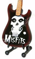 Miniature Guitar THE MISFITS With free stand