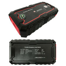 Portable 22000mAh Car Jump Starter Battery Charger Dual USB Port Power Bank DIY