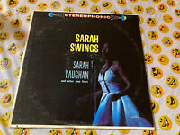 Sarah Vaughan Swings- Palace PST 673 Vocal Jazz LP Condition Is Used