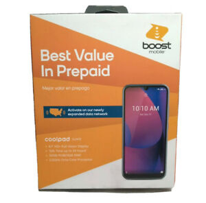 Coolpad Legacy Suva 4G LTE 32GB Android Prepaid Phone Brand New Factory Sealed