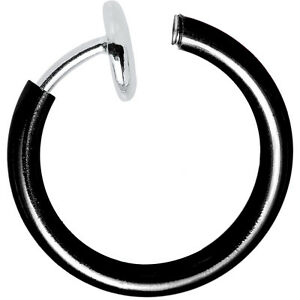 Non-Piercing Hoops - Perfect for Nose, Lip, Ear, Cartilage - Great for All Ages