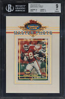 1993 Stadium Club 5x7 Members Only Master Photo Derrick Thomas Mint BGS 9 w/ 9.5