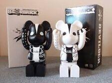 2005 Bearbrick x Warp Devilock 400% White & Black 2 set Be@rbrick Exclusive NOS