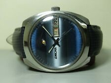 Old Used VINTAGE Enicar Automatic Day Date Swiss Mens Wrist Watch G197 Antique