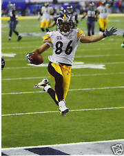 HINES WARD PITTSBURGH STEELERS SBXL TD COLOR 8X10
