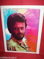 IVANO FOSSATI La musica che gira intorno 1983 Spartito Pop Art Cover