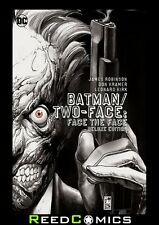 """BATMAN TWO FACE """"FACE THE FACE"""" DELUXE EDITION HARDCOVER New Hardback"""