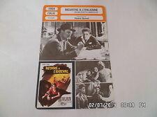 CARTE FICHE CINEMA 1959 MEURTRE A L'ITALIENNE Pietro Germi Claudio Gora