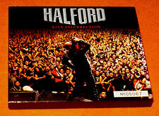 HALFORD LIVE INSURRECTION 2001 JAPAN 1st Box Obi 2 CD Judas Priest Iron Maiden