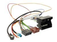 Autoradio Radio Quadlock Adapterkabel OPEL ab 2003 MOST ISO Phantomeinspeisung