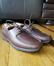 TIMBERLAND Men's Brown Leather Oxford Driving Heel Smart Comfort System Size 8 M