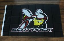 Scatpack Mopar Flag Banner Flag Dodge Chrysler Auto Parts Racing Bee Pack Scat