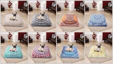 """10 Pcs Large Mandala Dog Floor Pillows Wholesale Lot Square Cushion Cover 35"""""""