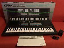 Yamaha PortaSound Pss-470 Electronic Keyboard Digital Synthesizer w/Original Box