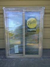 "NEW:  Pella Putty-Color FIBERGLASS Semi-SLIDER Home WINDOW  (36"" W x 48"" H)"