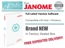 Janome Artistic Digitizer Embroidery Machine Digitizing Software | For Pc + Mac