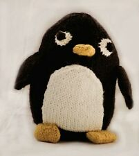 Ct22 - Knitting Pattern - Pingu Penguin Plush Children's Toy - Child's