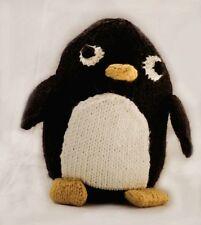 Ct22 - Knitting Pattern - Pingu Penguin Plush Children's Toy - Child's