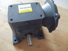 BOSTON WORM GEAR REDDUCER F715B-50T-B5-6 / RATIO 50:1