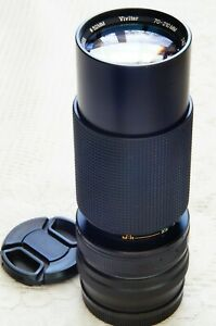 70-210mm zoom lens for your Canon EOSM EF-M mirrorless camera       Vivitar