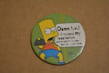 THE SIMPSONS TAZO PICKERS KIDS WILL BE KIDS! NO 11 #2